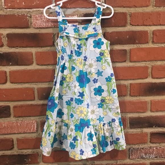 Gymboree Other - Gymboree Blue Floral Dress sz 4T